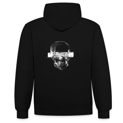 electrohead 1 - Contrast Colour Hoodie