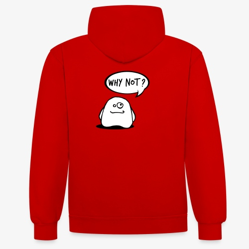 gosthy - Contrast Colour Hoodie