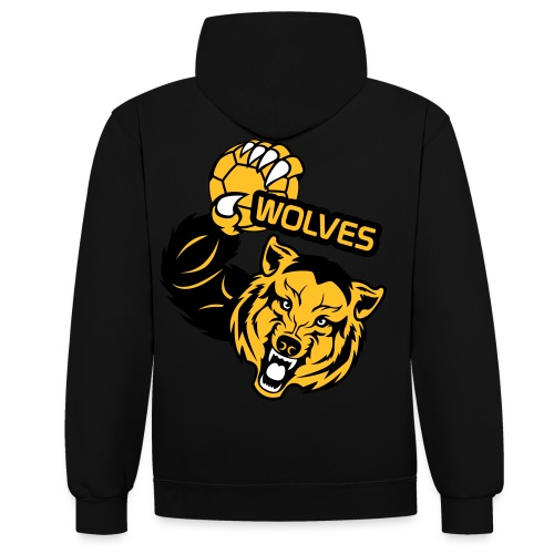 Wolves Handball - Sweat-shirt contraste