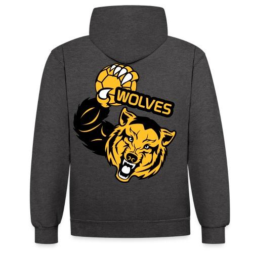 Wolves Handball - Sweat-shirt contraste