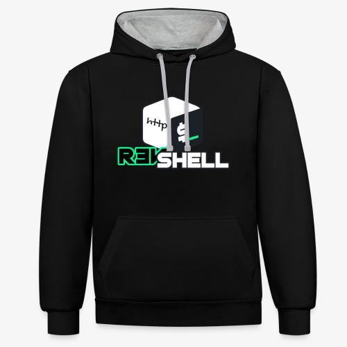 HTTP-revshell - Sudadera con capucha en contraste