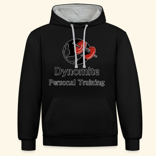 Dynomite Personal Training - Contrast Colour Hoodie