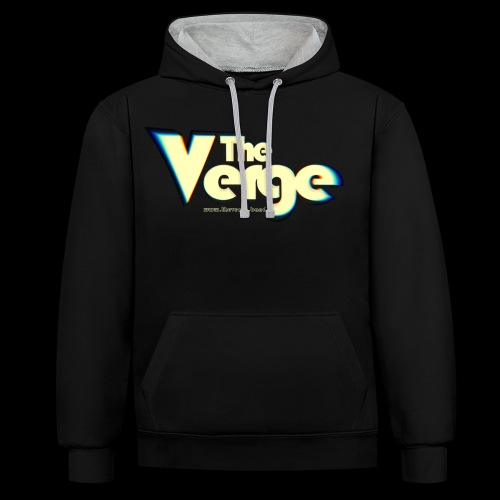 The Verge Vin - Sweat-shirt contraste