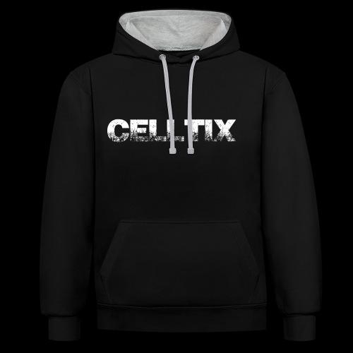 Celltix2- Collection - Kontrast-Hoodie