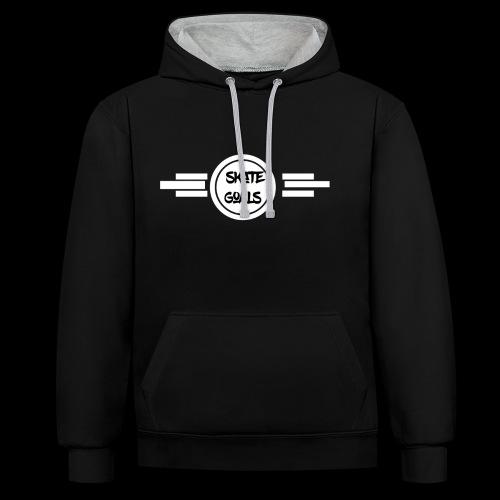 THE ORIGINIAL - Contrast hoodie