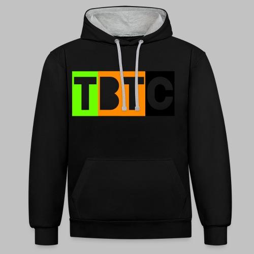 TBTC - Kontrast-Hoodie