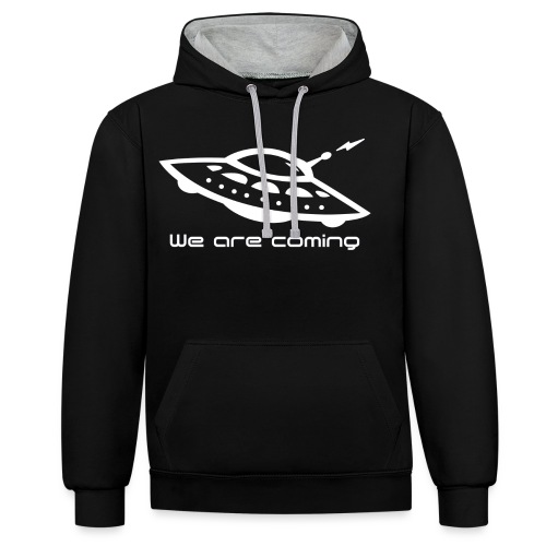 We Are Coming - Contrast Colour Hoodie
