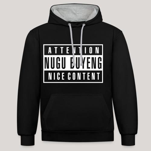 Nice Content 2 Nugu Buyeng - Kontrast-Hoodie