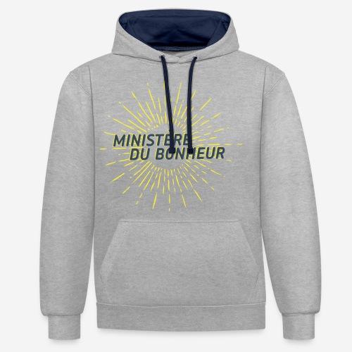 Ministère du Bonheur - Sweat-shirt contraste
