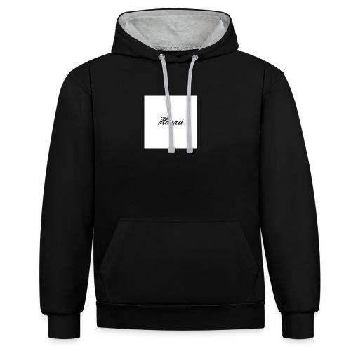 Hazza Hoodies - Contrast Colour Hoodie
