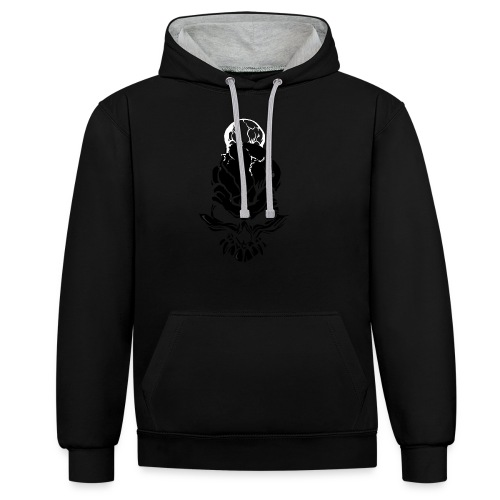 F noize fronte png - Contrast Colour Hoodie