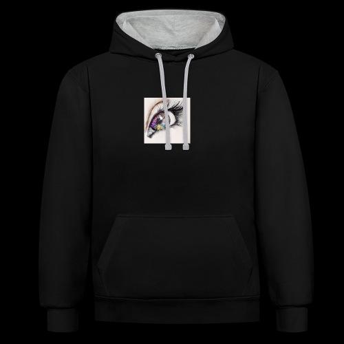 desenho design olhos eye Favim com 403064 - Contrast hoodie