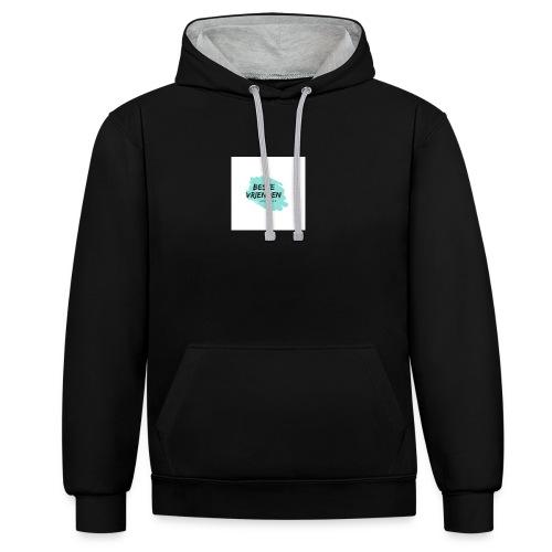 beste vriendeSpace - Contrast hoodie
