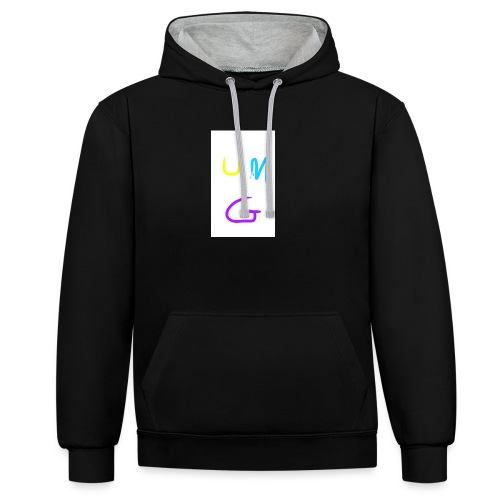 universal Myersgaming - Contrast Colour Hoodie
