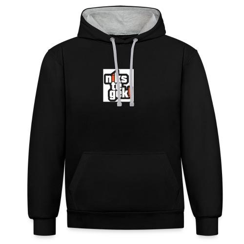 nikstegek shirt - Contrast hoodie
