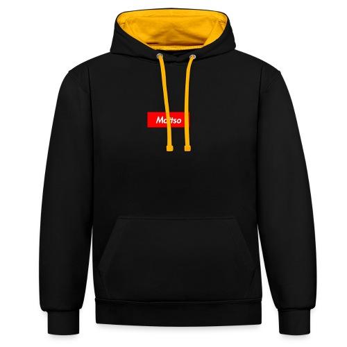 Mattso Merch to Flex - Contrast Colour Hoodie