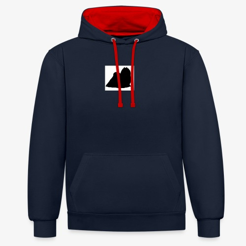 Maltese - Contrast Colour Hoodie