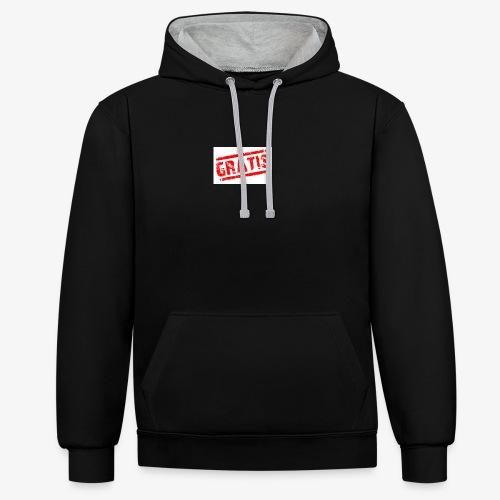 verkopenmetgratis - Contrast hoodie
