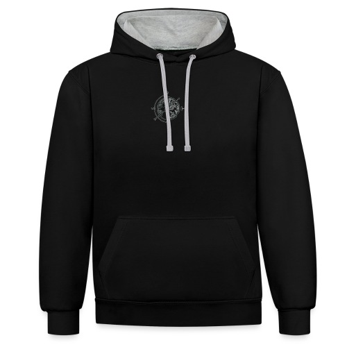 KOMPAS OFFICIAL - Contrast hoodie