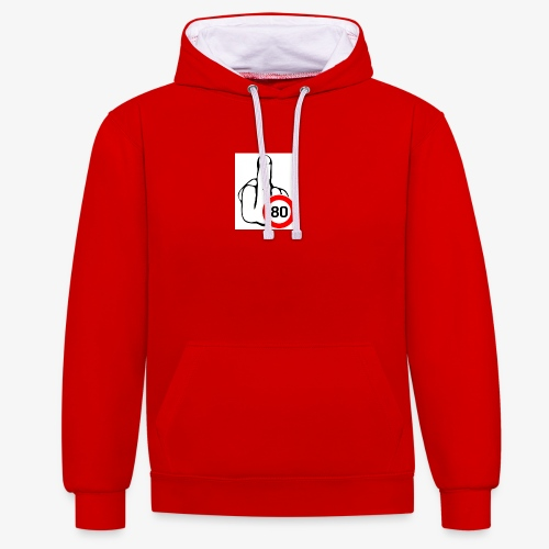 Doigt Coeur - Sweat-shirt contraste