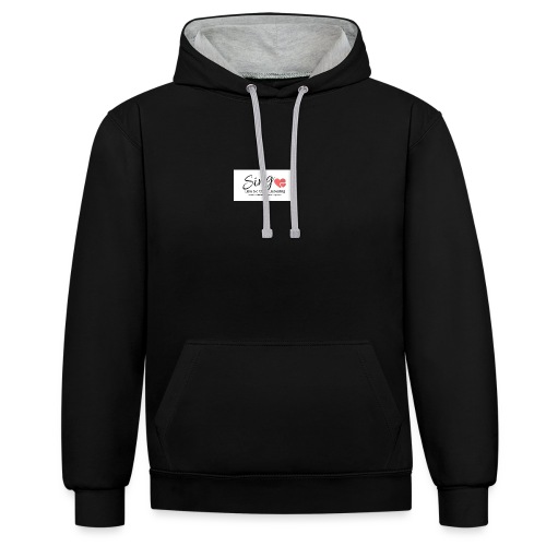 Sing Like No One's Listening - Contrast Colour Hoodie