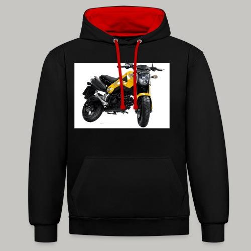 Grom Motorcycle (Monkey Bike) - Contrast Colour Hoodie