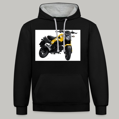 Grom Motorcycle (Monkey Bike) - Contrast Colour Hoodie