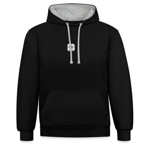 Illusion attire logo - Contrast Colour Hoodie