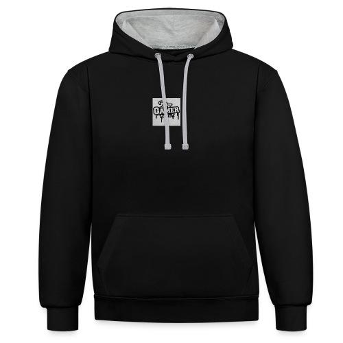 pro gamer graffiti magliette felpa da uomo di stan - Felpa con cappuccio bicromatica