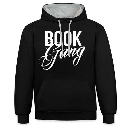 Book Gang - Contrast hoodie