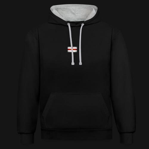 Englan brand - Contrast Colour Hoodie