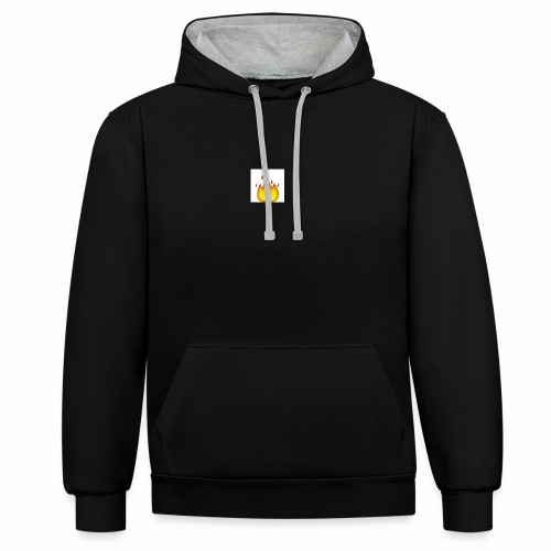 Fire Brand - Contrast Colour Hoodie