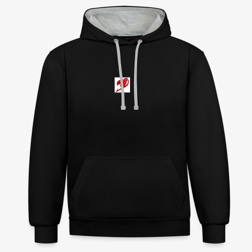 logo fairy tail - Sweat-shirt contraste