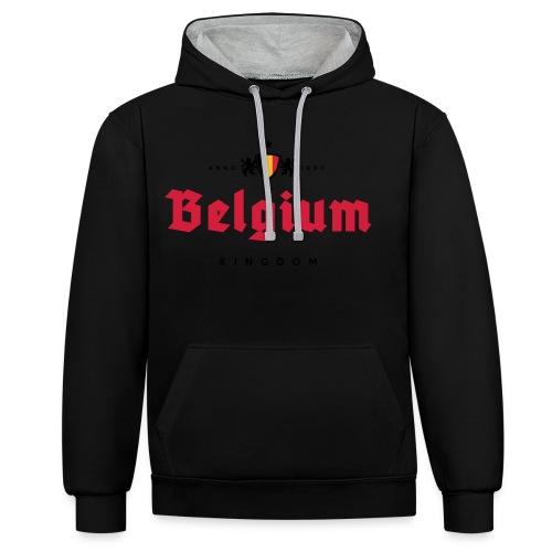 Bierre Belgique - Belgium - Belgie - Sweat-shirt contraste