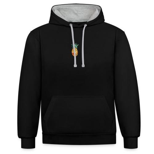 pinety logo print - Kontrast-hættetrøje