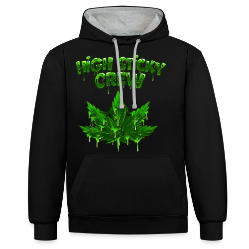 HIGH STICKY CREW - Collector - Sweat-shirt contraste