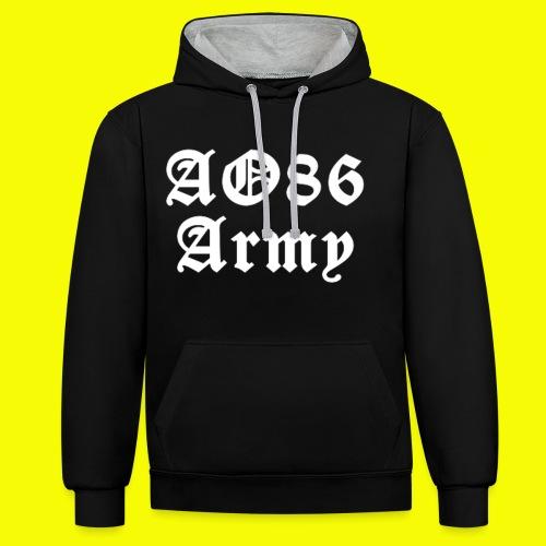 T Shirt Army weiß png - Kontrast-Hoodie