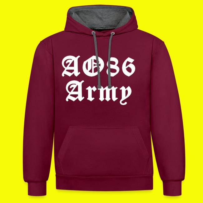 T Shirt Army weiß png