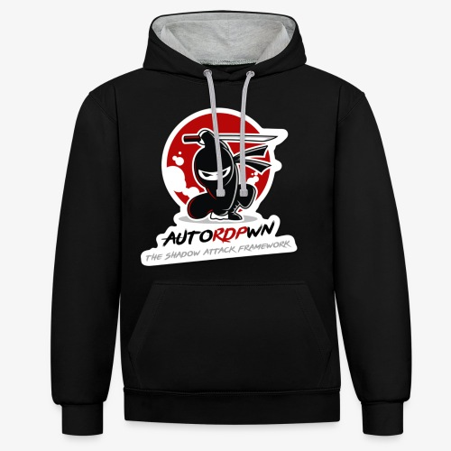 AutoRDPwn - Contrast Colour Hoodie