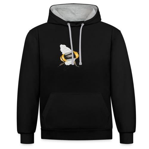 Honeybee - Contrast hoodie
