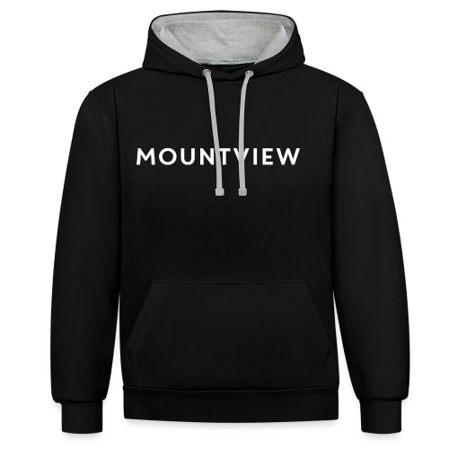 Mountview - Contrast Colour Hoodie