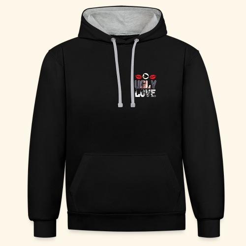 Ugly Love - Contrast Colour Hoodie