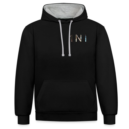 1NI - Sweat-shirt contraste