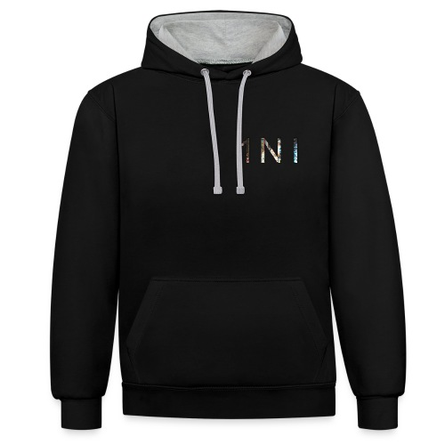 1NI - Sweat-shirt contraste