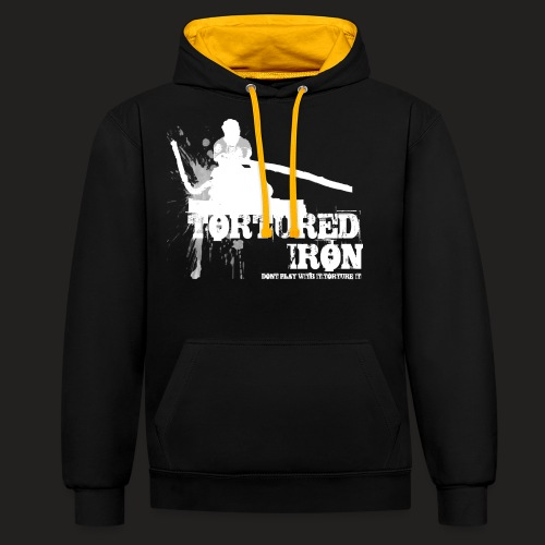 CAR PULL - Contrast Colour Hoodie