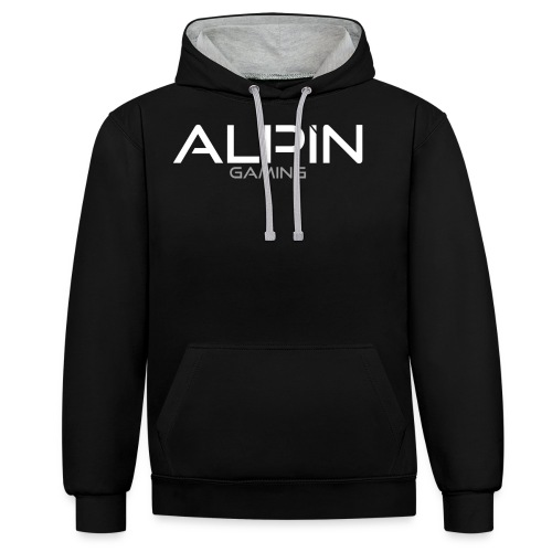 AlpiN Merch png - Kontrast-Hoodie