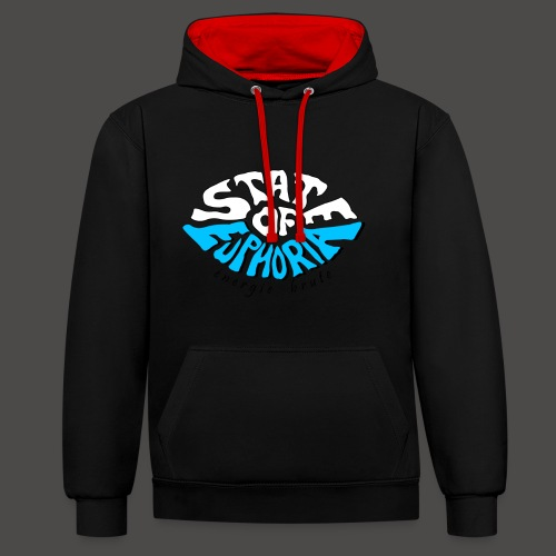 State of Euphoria - Contrast Colour Hoodie