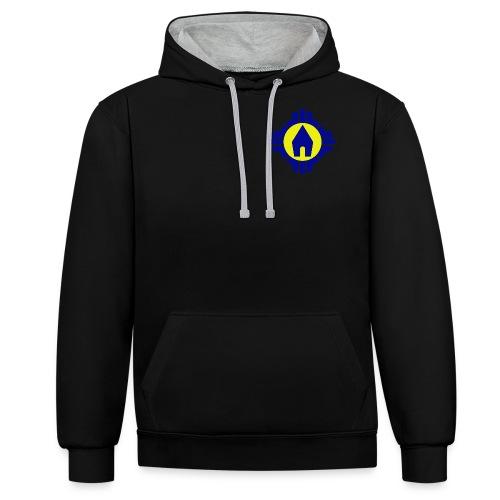 Schoenstatt Logo - Kontrast-Hoodie