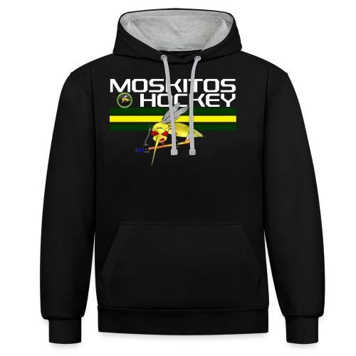 Mosktios Hockey ohne nr png - Kontrast-Hoodie