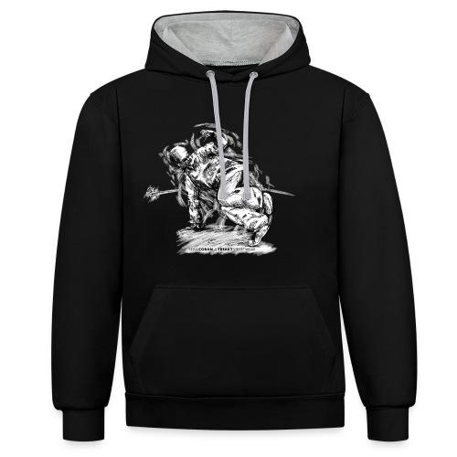 Knowledge Shirt5.2 - Kontrast-Hoodie